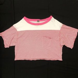 We The Free striped top size XS